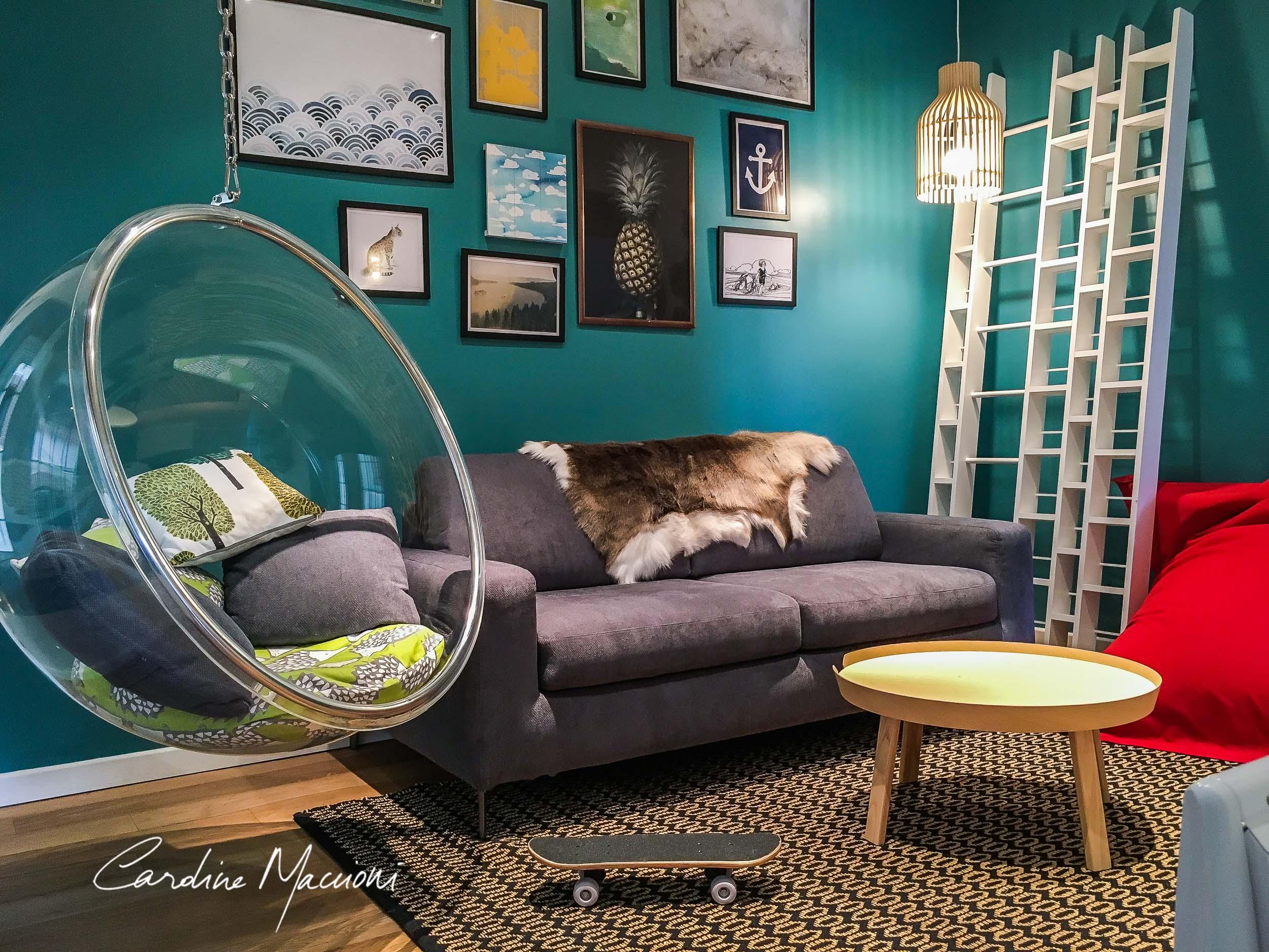Décoration d'intérieur appartement Biarritz Côte Basque 64 Atalaye vacances en famille et location saisonnière avec vue océan