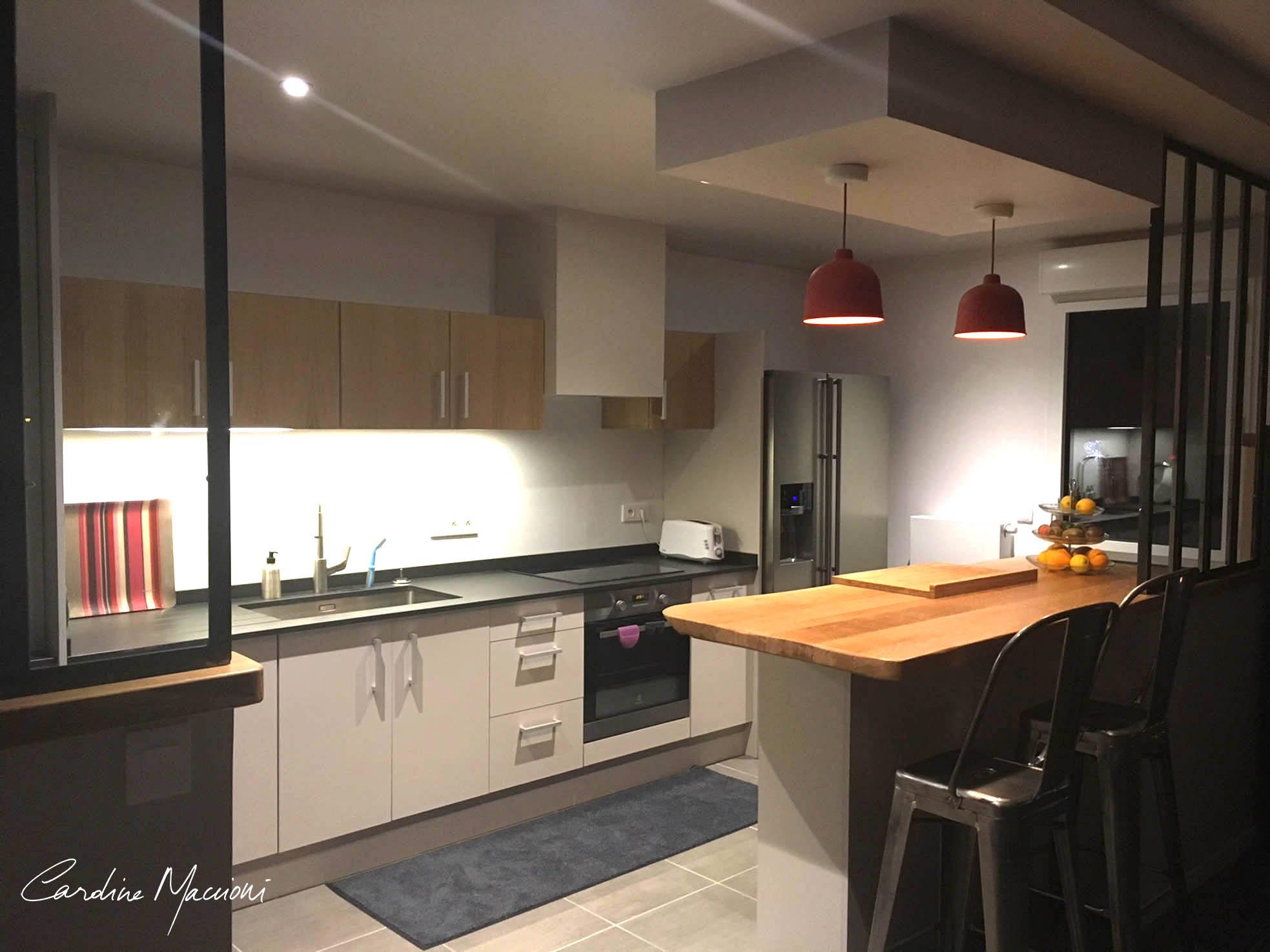 Aménagement et décoration d'intérieur appartement haut de gamme hyper-centre Bayonne Côte Basque (64)