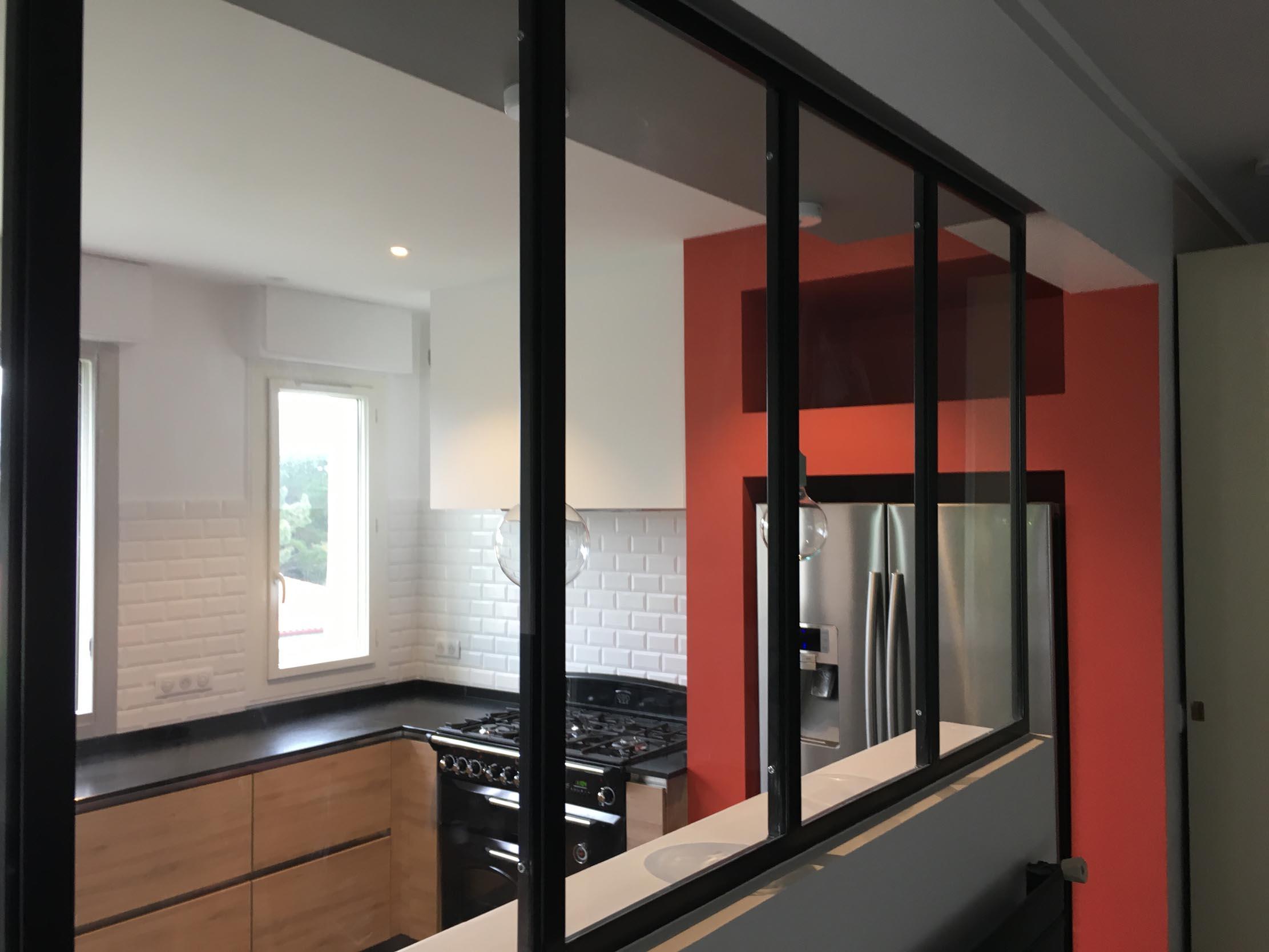 Rénovation cuisine et décoration d'intérieur maison de famille Chiberta Anglet Côte Basque 64