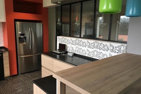 Rénovation cuisine et décoration d\'intérieur maison de famille ...